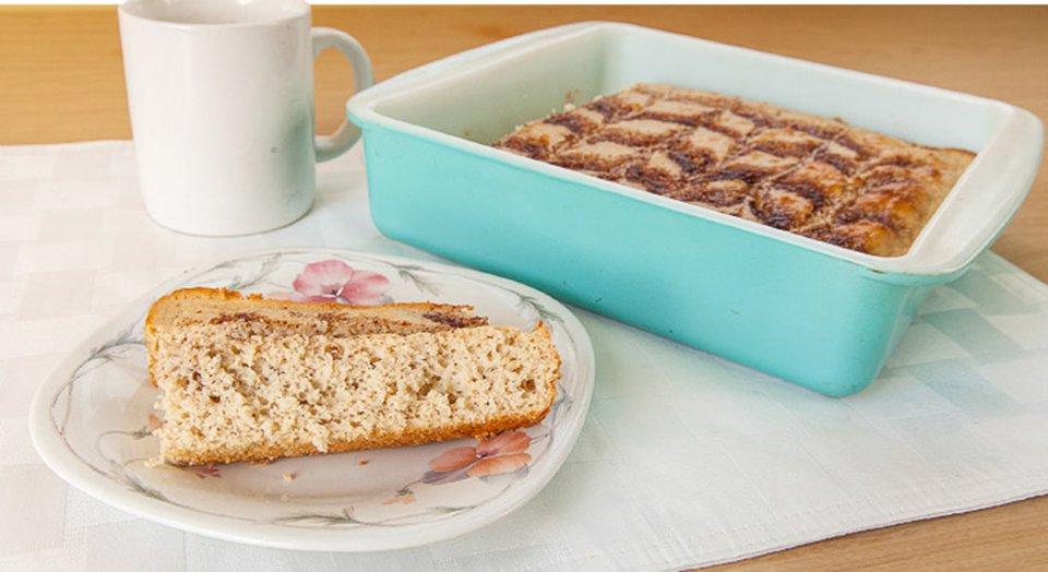Jamie Eason's Cinnamon Swirl Protein Bread