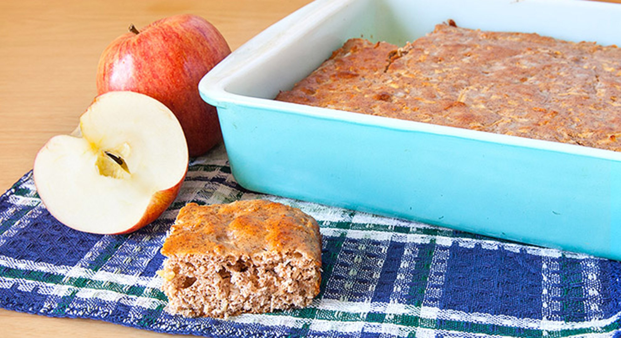 Jamie Eason's Low-Carb Apple Cinnamon Protein Bars