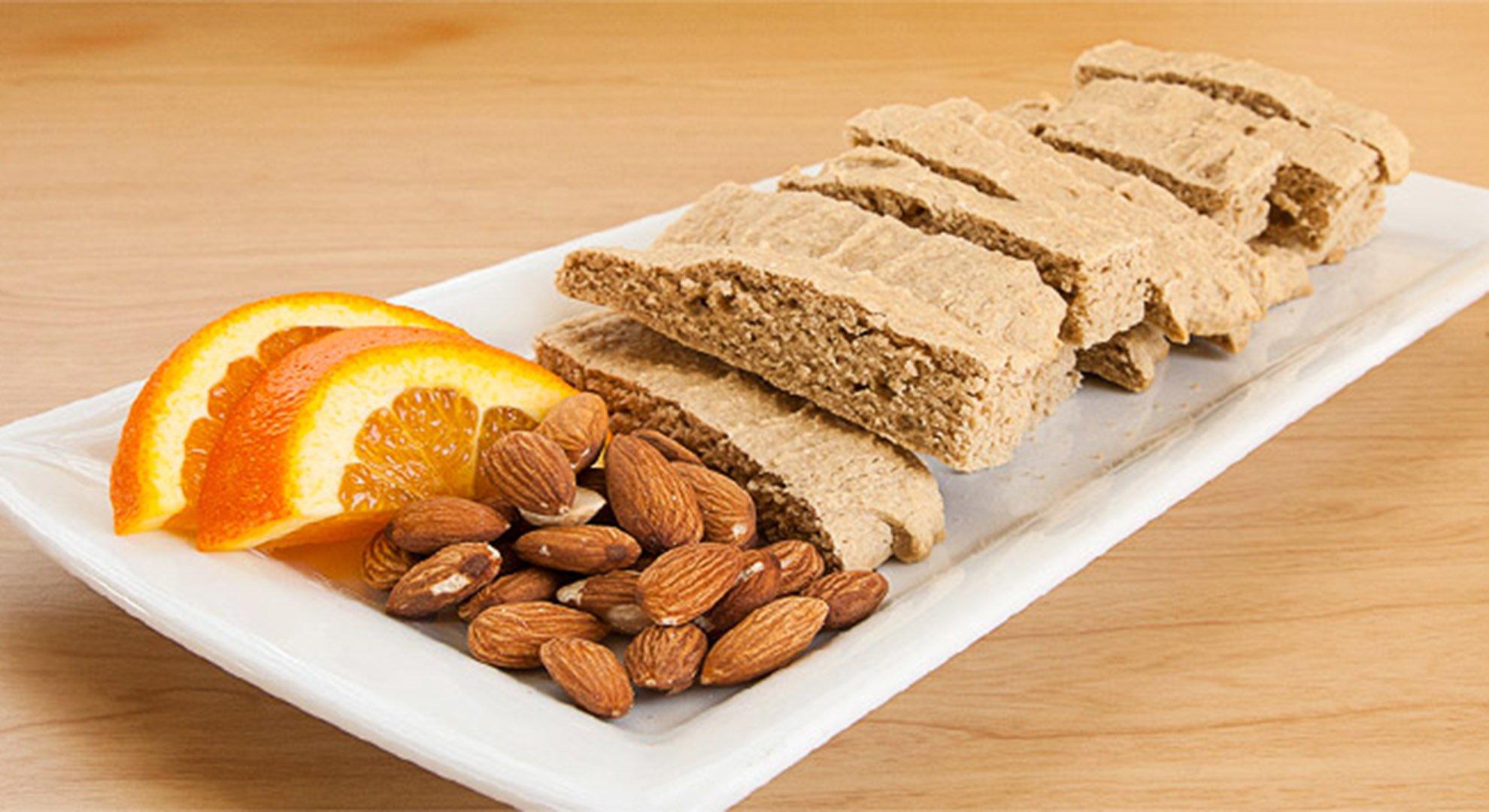 Jamie Eason's Orange Almond Biscotti Cookies