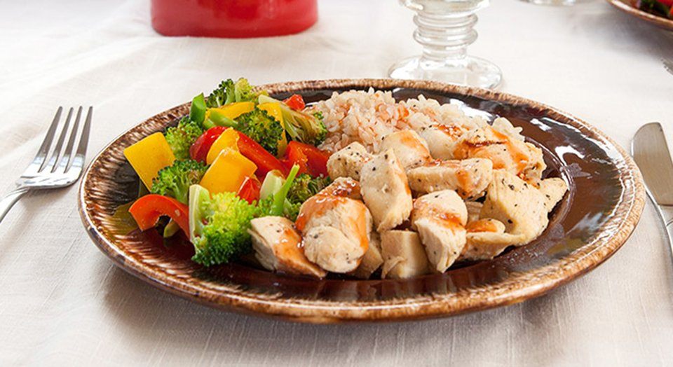 Jamie Eason's Sweet and Sour Chicken Recipe