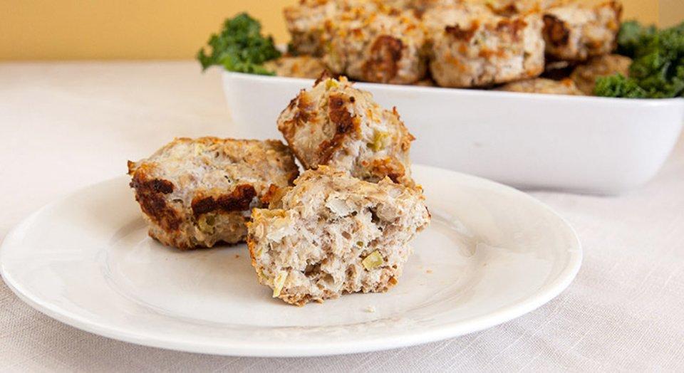Jamie Eason's Turkey Meatloaf Muffins