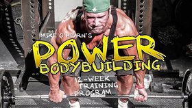 Mike O'Hearn's Power Bodybuilding 12-Week Training Program