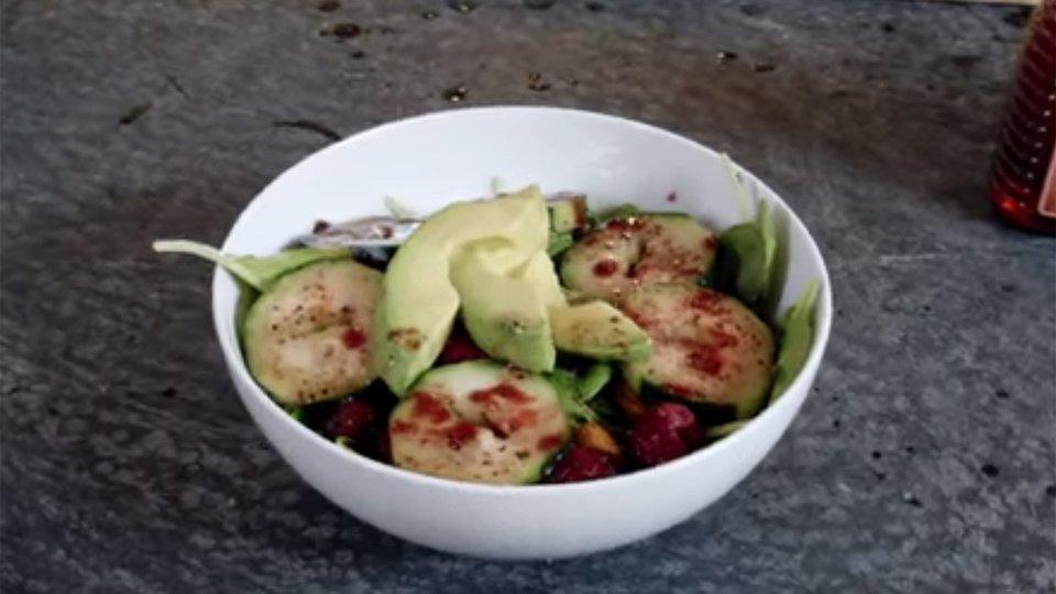 Pre-Workout Vinaigrette Salad Dressing