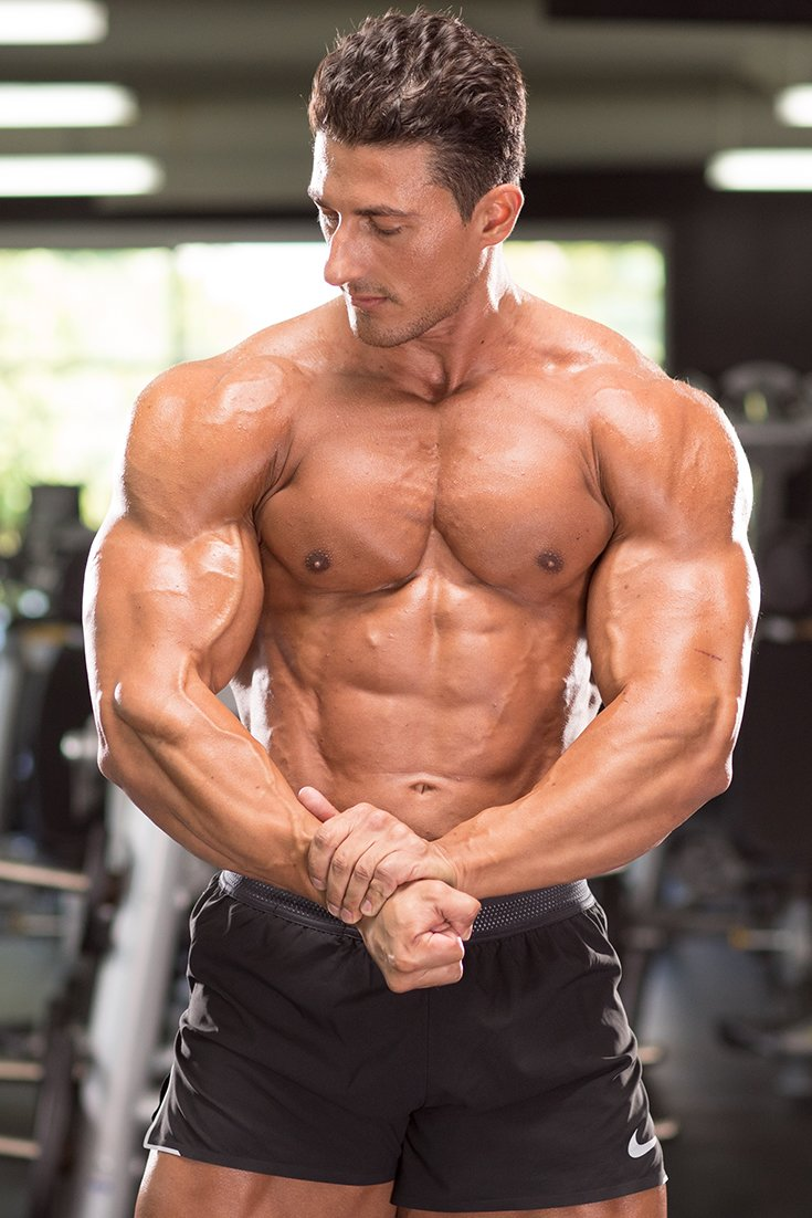 Sadik Hadzovics Chiseled Chest Workout