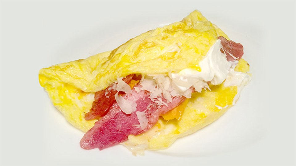 Jim Stoppani's Shortcut To Shred Recipes: Sweet Potato Omelet