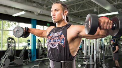 Image result for dumbbell lateral raises