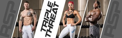 Triple Threat: 4-Week Fitness Plan wide header image