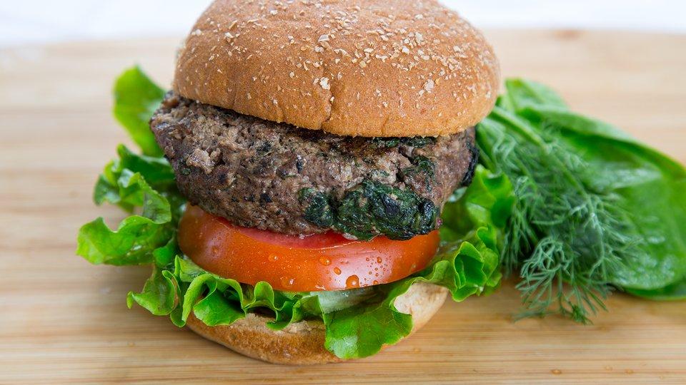 Ground Bison Burger