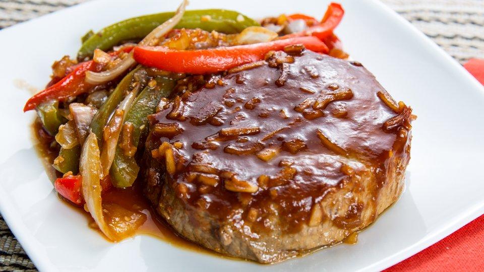 Teriyaki Bison Steaks