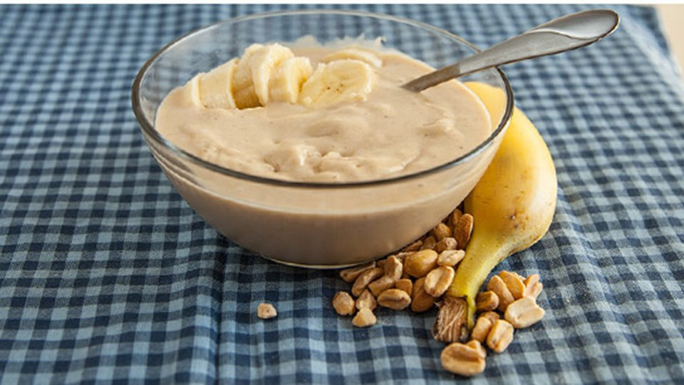Creamy Peanut Butter Banana Ice Cream
