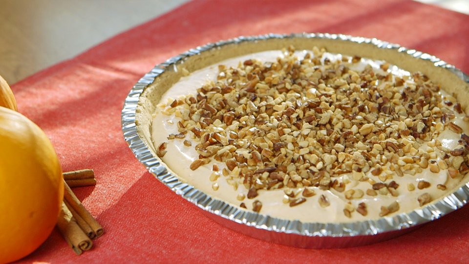Million Dollar Pumpkin Protein Pie