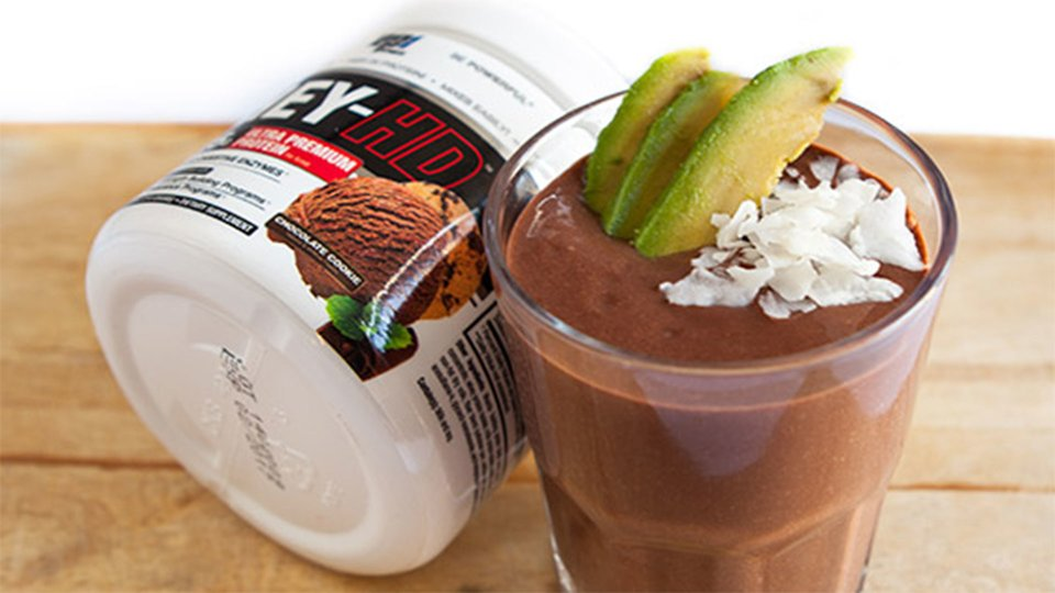 Choconut Avocado Protein Shake