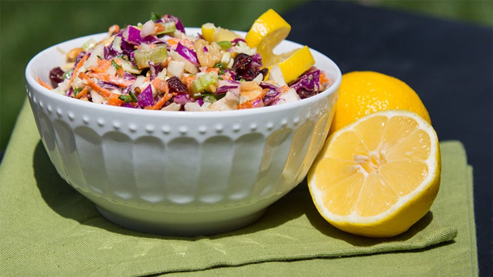 Creamy Light Coleslaw