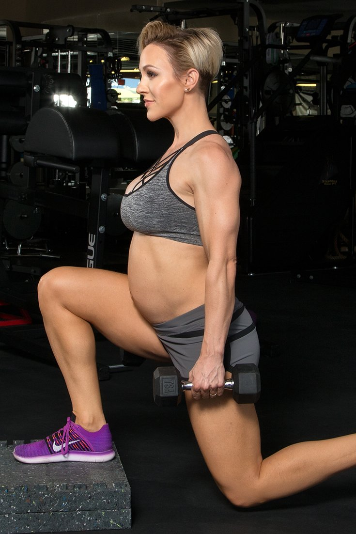 Lifting During Pregnancy Modified Glute Exercises