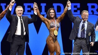 Oksana Grishina Guns For Her Fourth And Final Olympia Crown