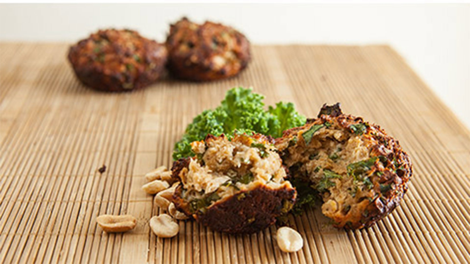 Protein Powered PB Muffins