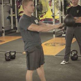 two-Arm Kettlebell Swings