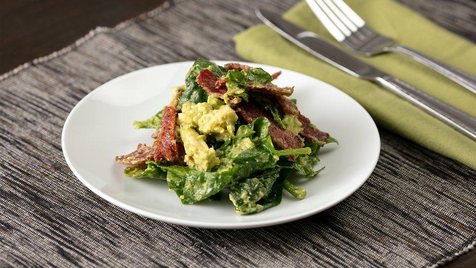 Spinach, Bacon and Avocado Salad