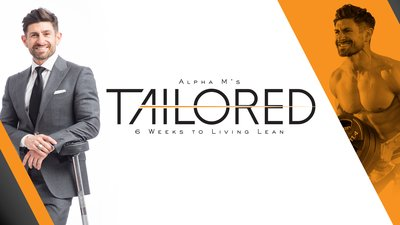 Alpha M's Tailored: 6 Weeks To Living Lean mobile header image