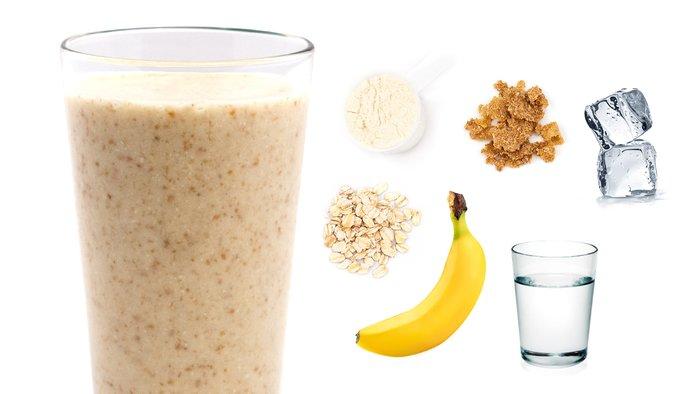 banana bread protein shake