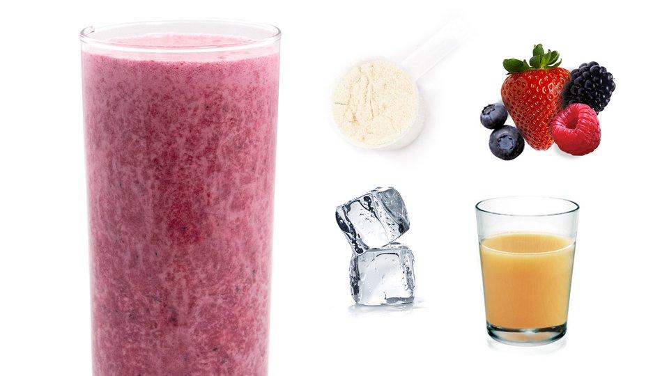 Berries & Cream Shake