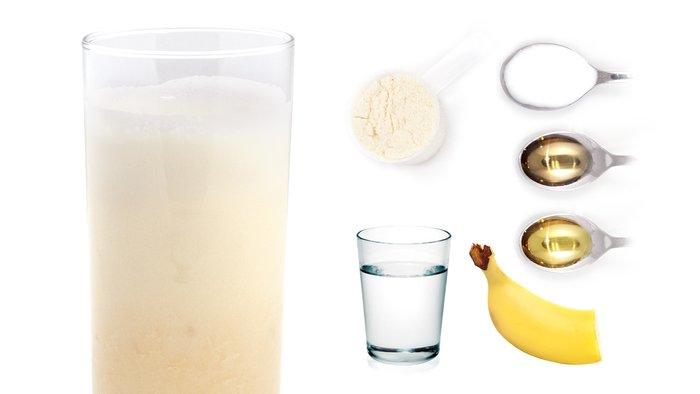 tropical pleasure protein shake