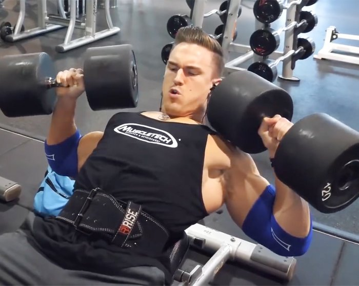 Abel Albonettis Killer Upper Chest Workout