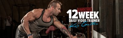 12-Week Hardcore Daily Trainer With Kris Gethin! wide header image