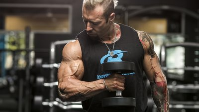 Kris Gethin's 4 Essential Intensity-Boosting Techniques For More Muscle