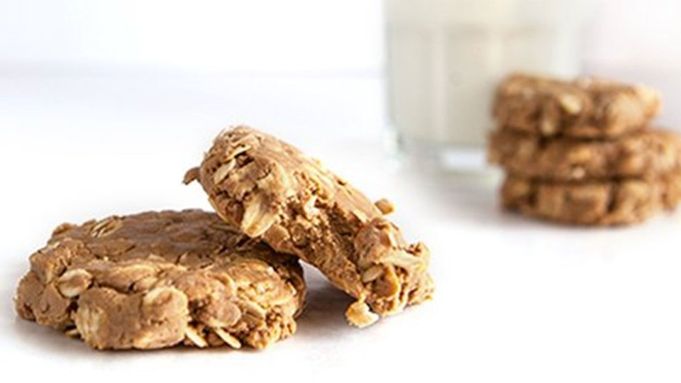 No-Bake Peanut Butter Beast Cookies