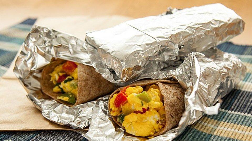 Traveling Breakfast Tortillas