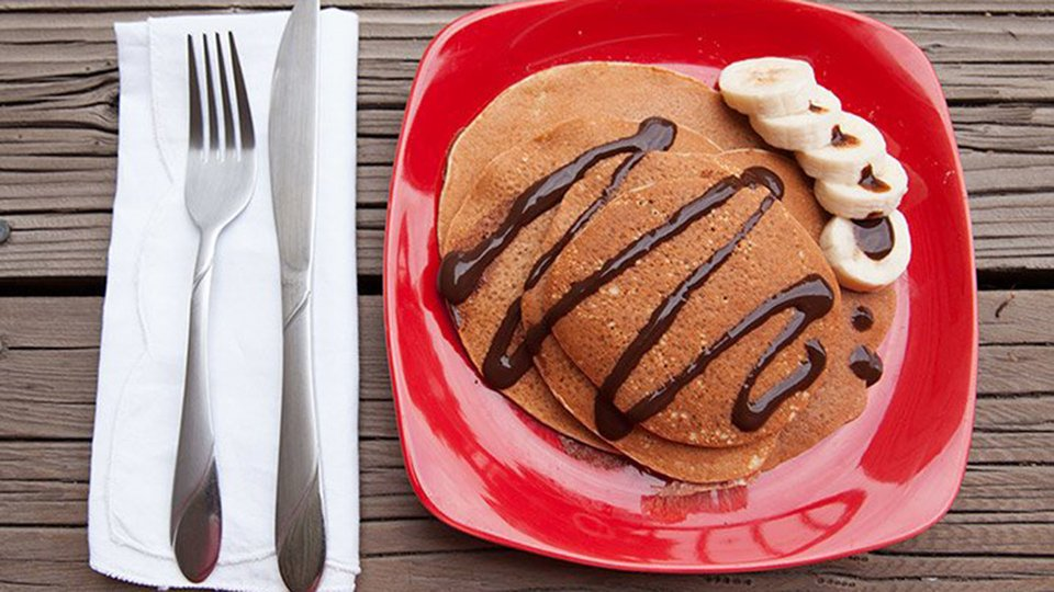 Two-Ingredient Pancakes
