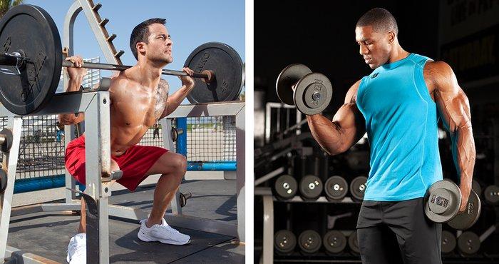 Los culturistas necesitan una combinación de movimientos compuestos y de aislamiento para desarrollar completamente cada grupo muscular.