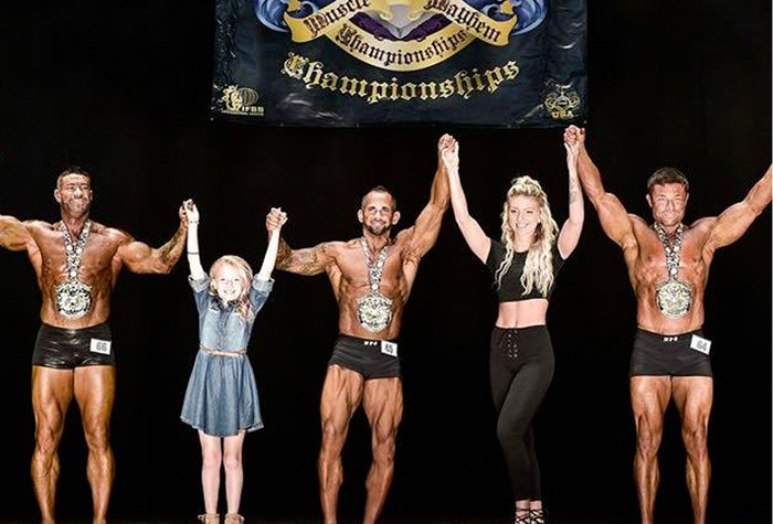 After about six months of what I would call lean bulking, I decided I wanted to take a swing at getting competitive again and do a show.