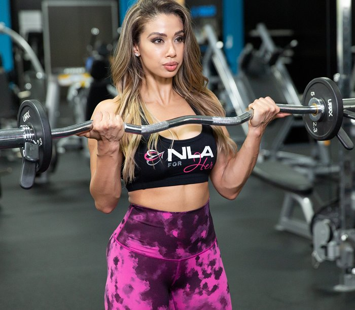 Build Your Back and Biceps with Lais DeLeon