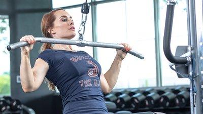 Meg Squats' Quick Back Workout