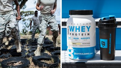 Supplements For Soldiers: Why Whey Beats Carbs
