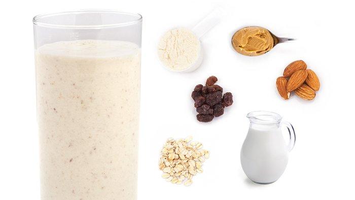 almond blast protein shake