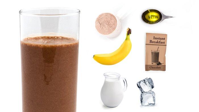 iced breakfast protein shake