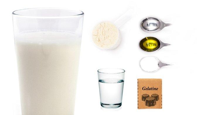 mineral powder protein shake