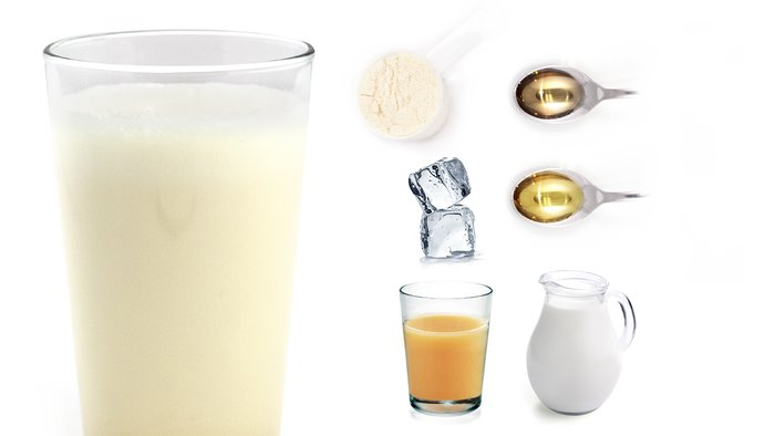 nada colada protein shake