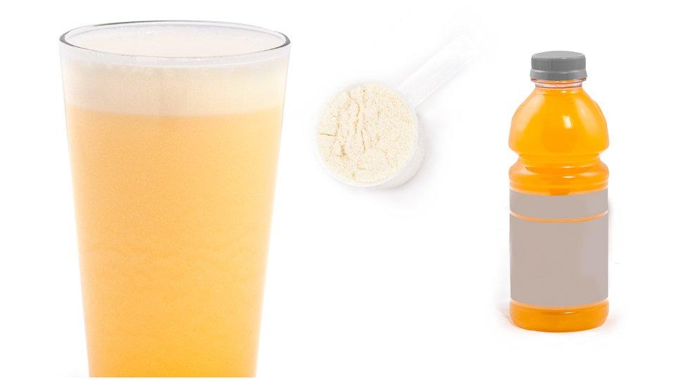 Orange and Cream Shake
