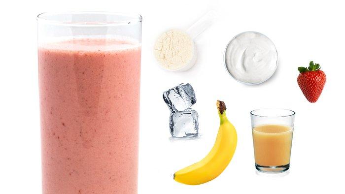 pineapple power protein shake
