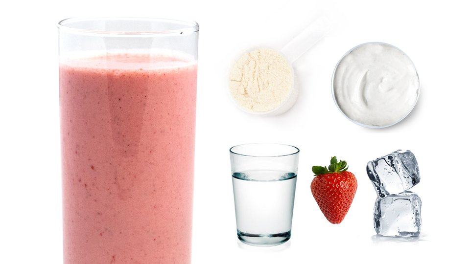 Strawberry Cheesecake Shake