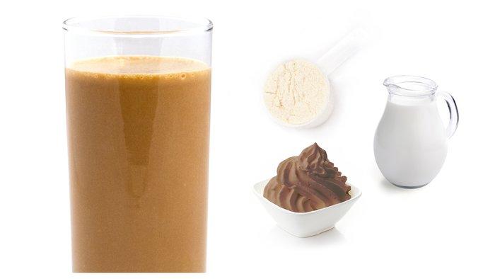 vanilla coffe protein shake