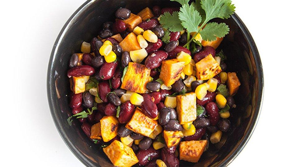 Bean and Sweet Potato Salad
