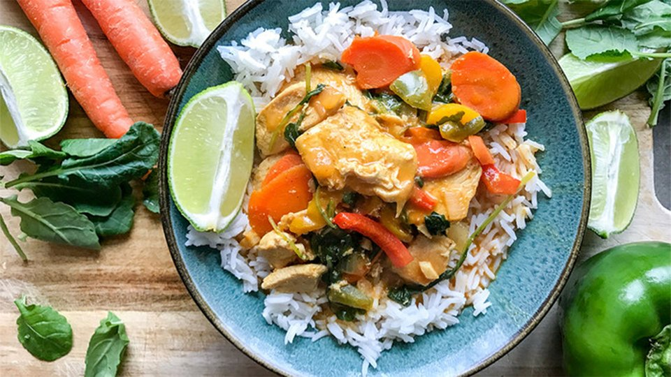 Thai Chicken And Vegetable Coconut Curry