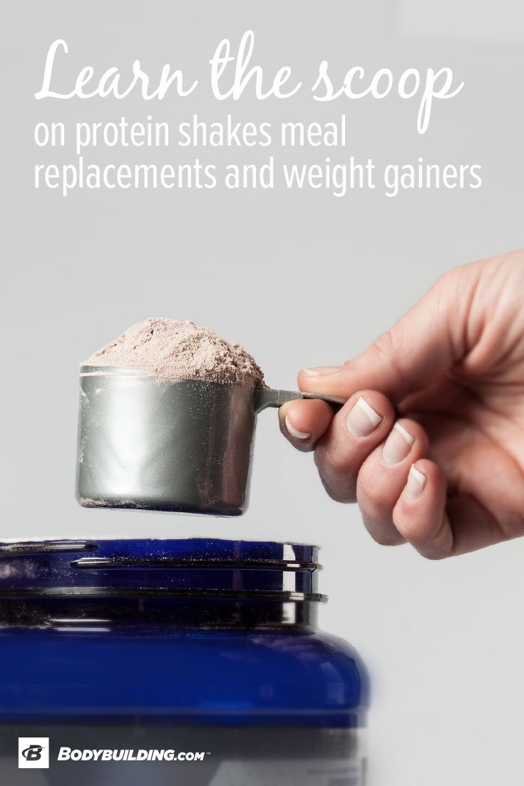 The Scoop On Protein Shakes, Meal Replacements, And Weight