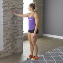 home body hand on wall stretch a 130x130 3 Upper Body Workouts for Women