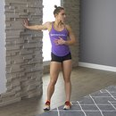 home body hand on wall stretch b 130x130 3 Upper Body Workouts for Women